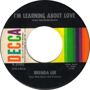 Lee, Brenda - Decca 31195 D
