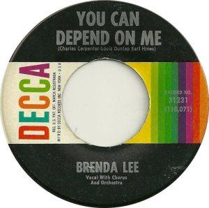 Lee, Brenda - Decca 31231 D