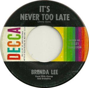 Lee, Brenda - Decca 31231 E