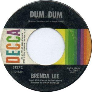 LEE, BRENDA DECCA 31272 A