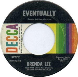 LEE, BRENDA DECCA 31272 B