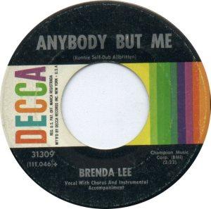 Lee, Brenda - Decca 31309 D