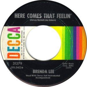 LEE, BRENDA DECCA 31379 B