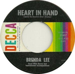 LEE, BRENDA DECCA 31407 A
