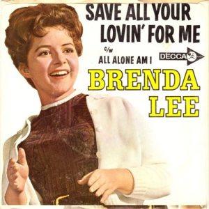 Lee, Brenda - Decca 31424 B