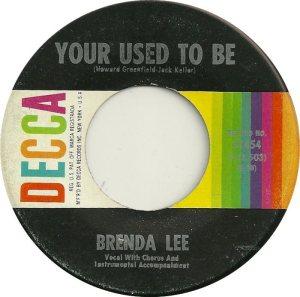 Lee, Brenda - Decca 31454 C