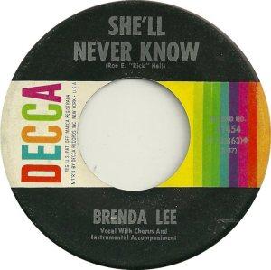 Lee, Brenda - Decca 31454 D