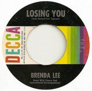 Lee, Brenda - Decca 31478 D