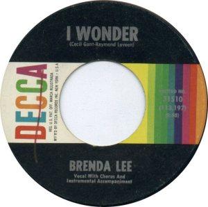 Lee, Brenda - Decca 31510 D