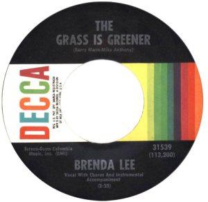 LEE, BRENDA - DECCA 31539 C