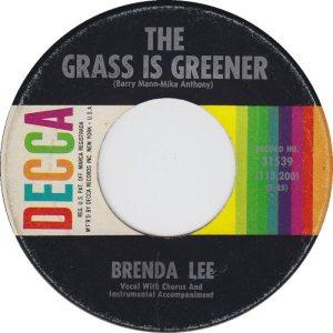 LEE, BRENDA - DECCA 31539 D