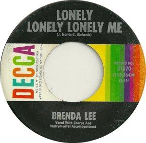 Lee, Brenda - Decca 31570 C