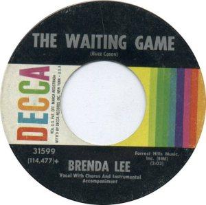 Lee, Brenda - Decca 31599 C