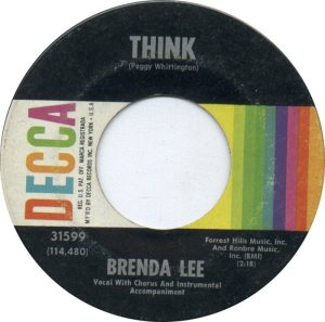 Lee, Brenda - Decca 31599 D