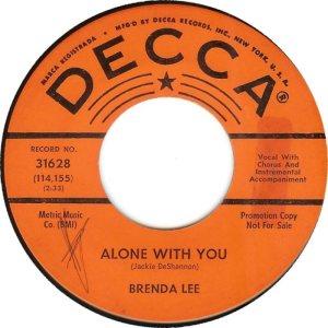 Lee, Brenda - Decca 31628 C