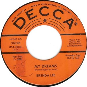 Lee, Brenda - Decca 31628 D