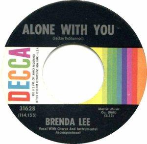 Lee, Brenda - Decca 31628 E