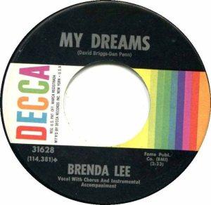Lee, Brenda - Decca 31628 F
