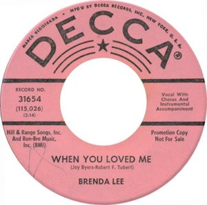 Lee, Brenda - Decca 31654 C
