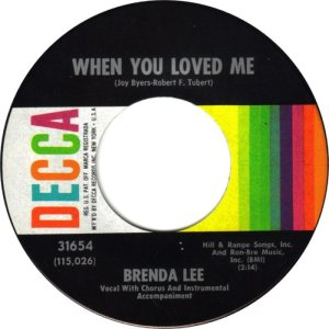 Lee, Brenda - Decca 31654 D