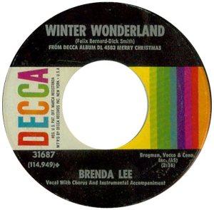 Lee, Brenda - Decca 31687 PS F
