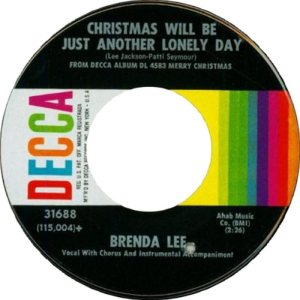 Lee, Brenda - Decca 31688 PS C