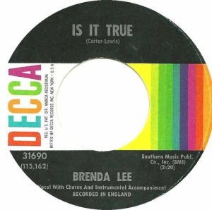 Lee, Brenda - Decca 31690 C