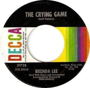 LEE, BRENDA DECCA 31728 B
