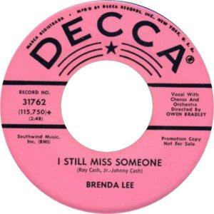 Lee, Brenda - Decca 31762 D