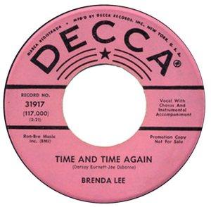LEE, BRENDA DECCA 31917 A