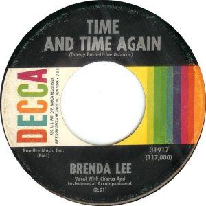 LEE, BRENDA DECCA 31917 C