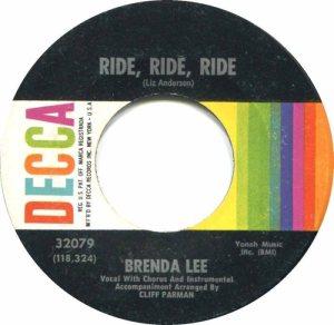 LEE, BRENDA DECCA 32079 A