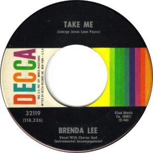 LEE, BRENDA DECCA 32119 A