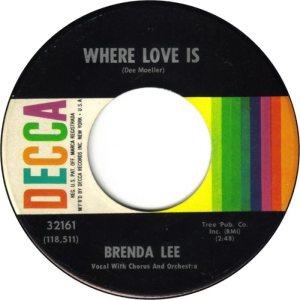 LEE, BRENDA DECCA 32161 A