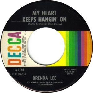 LEE, BRENDA DECCA 32161 B