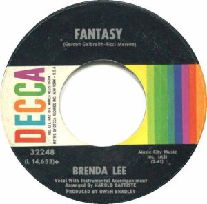 LEE, BRENDA DECCA 32248 B