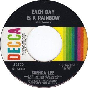 LEE, BRENDA DECCA 32330 A