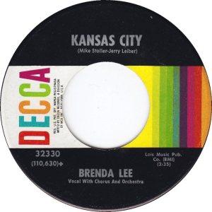LEE, BRENDA DECCA 32330 B