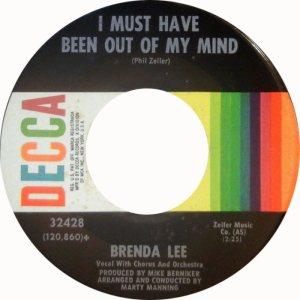 Lee, Brenda - Decca 32428 C