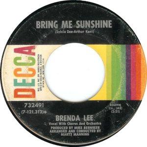 LEE, BRENDA DECCA 32491 B