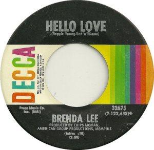LEE, BRENDA DECCA 32675 B