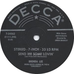 Lee, Brenda - Decca 33EPCF 74216 F