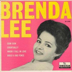 LEE, BRENDA - DECCA EP 1961 2702 A
