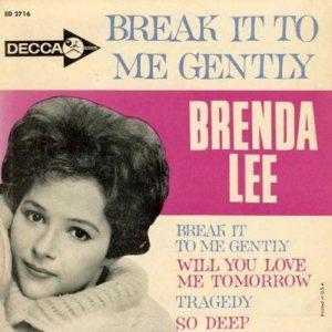 LEE, BRENDA - DECCA EP 1961 2716 A