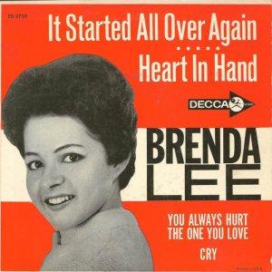 LEE, BRENDA - DECCA EP 1962 2726 A (2)