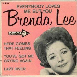 LEE, BRENDA - DECCA EP 1962 2726 A