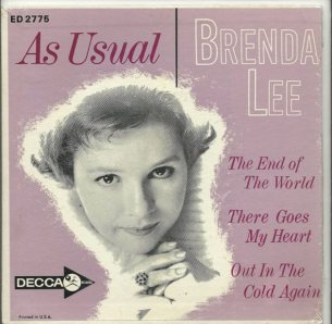 LEE, BRENDA - DECCA EP 1964 2775 AA