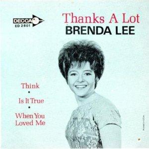 Lee, Brenda - Decca EP 1965 2801 A