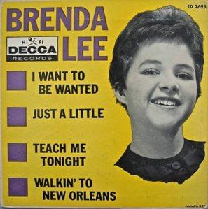 LEE, BRENDA DECCA EP 2695 C