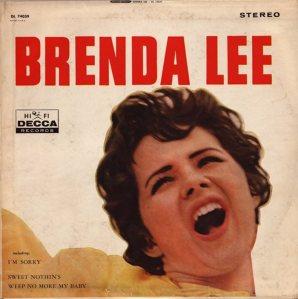 LEE, BRENDA DECCA LP 4039 A